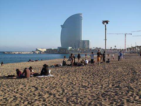 Teambuilding v Barceloně